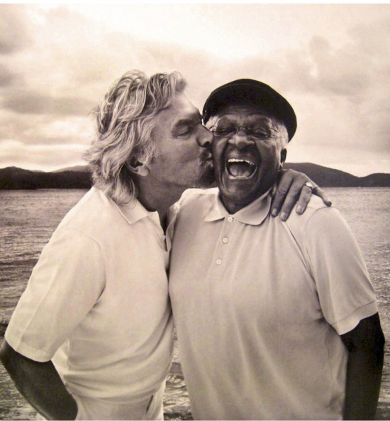 Virunga National Park, Richard Branson and Desmond Tuto