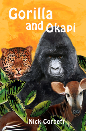Gorilla and Okapi by Nick Corbett